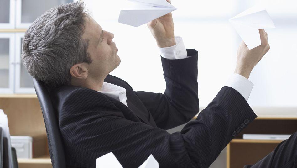 Pause während der Arbeit: Selbst beim Nichtstun ist das Hirn aktiv