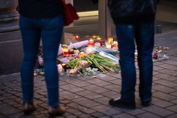 Trauer in Straßburg