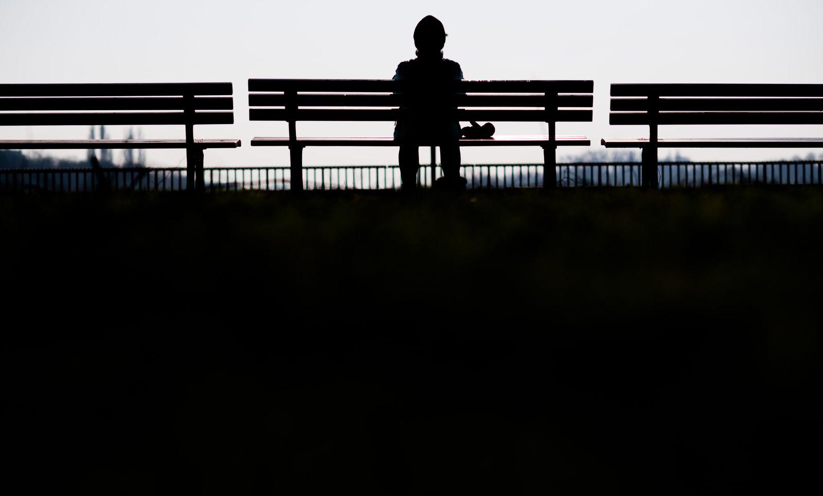 Einsamkeit Symbolbild