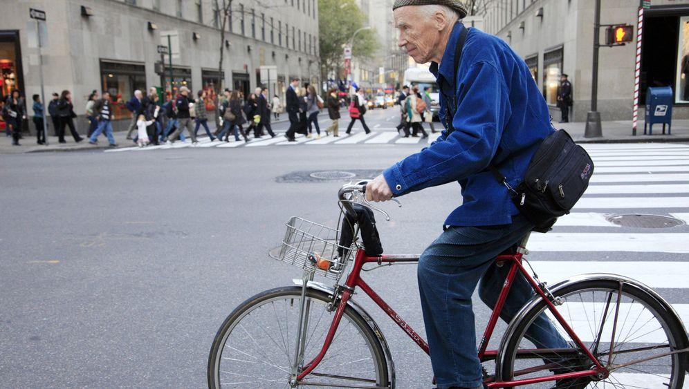 Street-Fotograf Bill Cunningham: Ein New Yorker Wahrzeichen