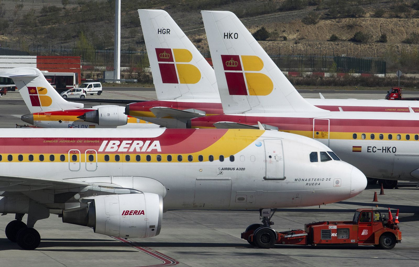Spain Pilots Strike