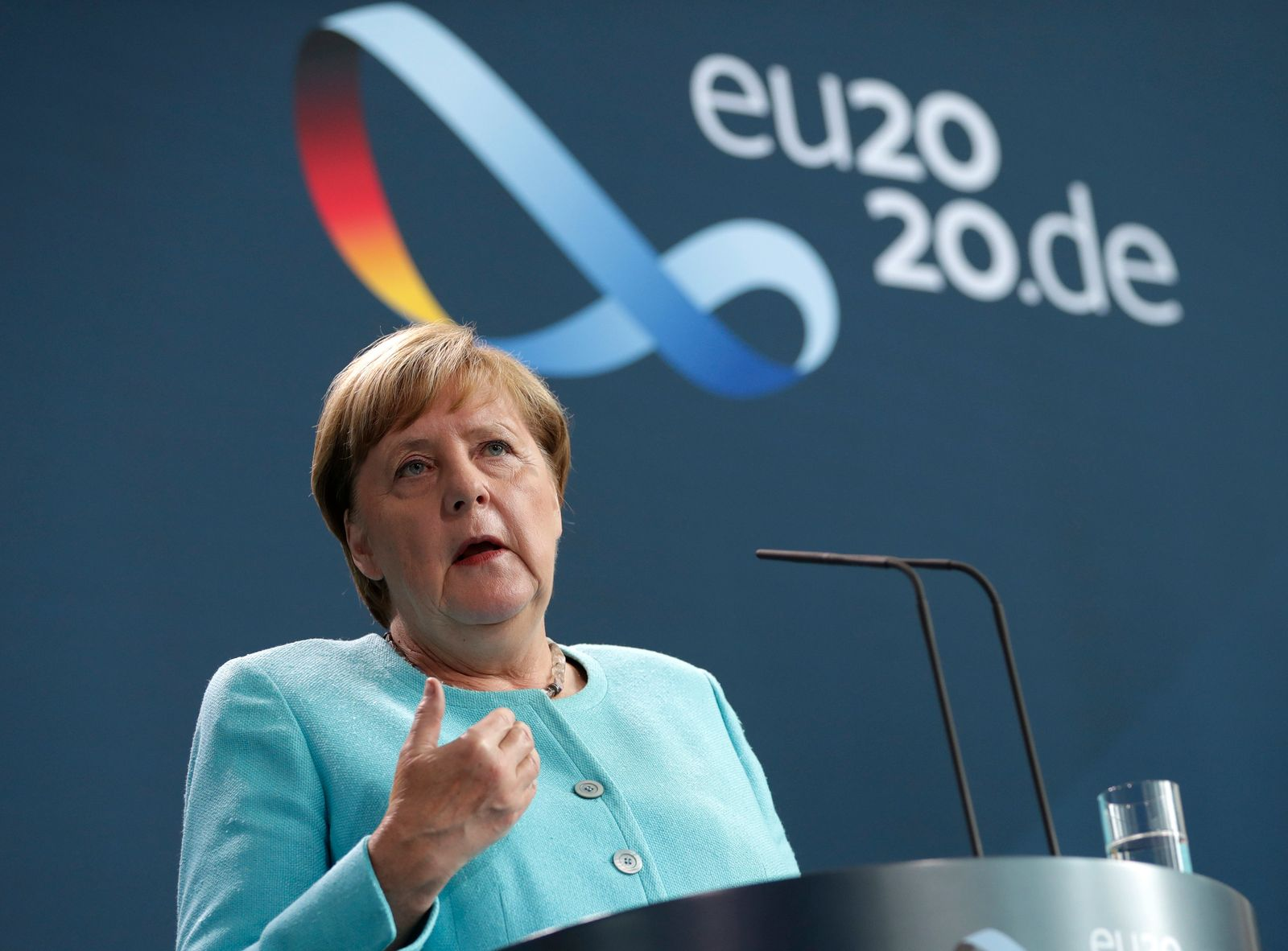 Merkel zu Schuldenaufnahme in der EU