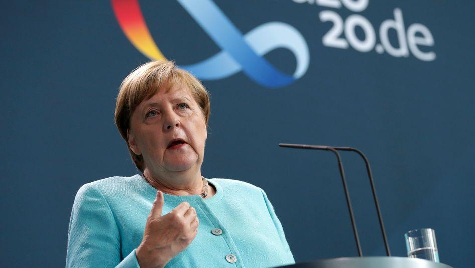 Kanzlerin Merkel: Antwort auf eine ganz außergewöhnliche Notsituation
