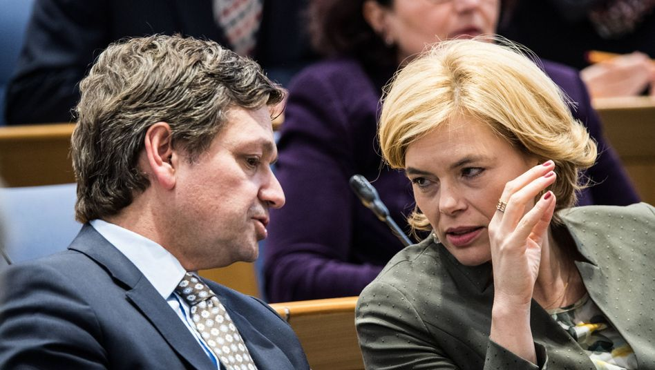 Christian Baldauf und Julia Klöckner