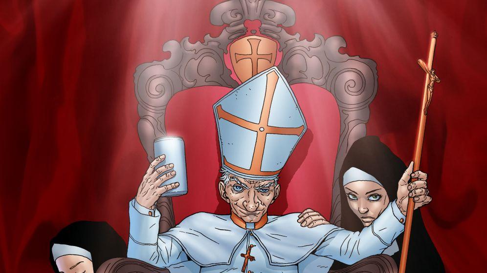 Religions-Comics: Blasphemie und letzte Fragen