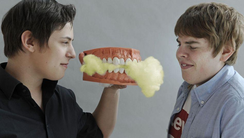 Wie bekämpft man Mundgeruch? Diese Schüler hatten eine Idee