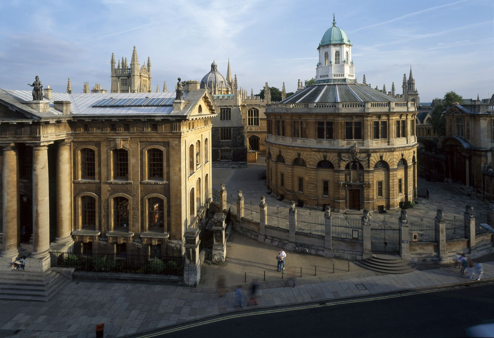 Sheldonian Theatre, Broad St, Oxford, England, 1662 - 1669