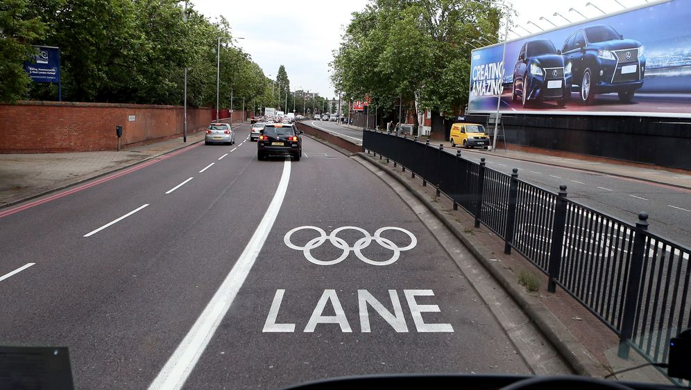 Olympic Lanes in London: Verhasste Gassen