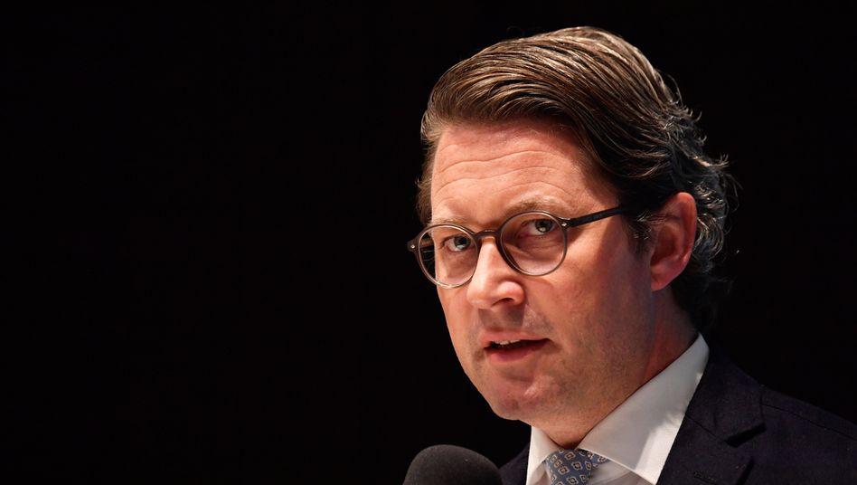 Unter Zugzwang: Verkehrsminister Andreas Scheuer