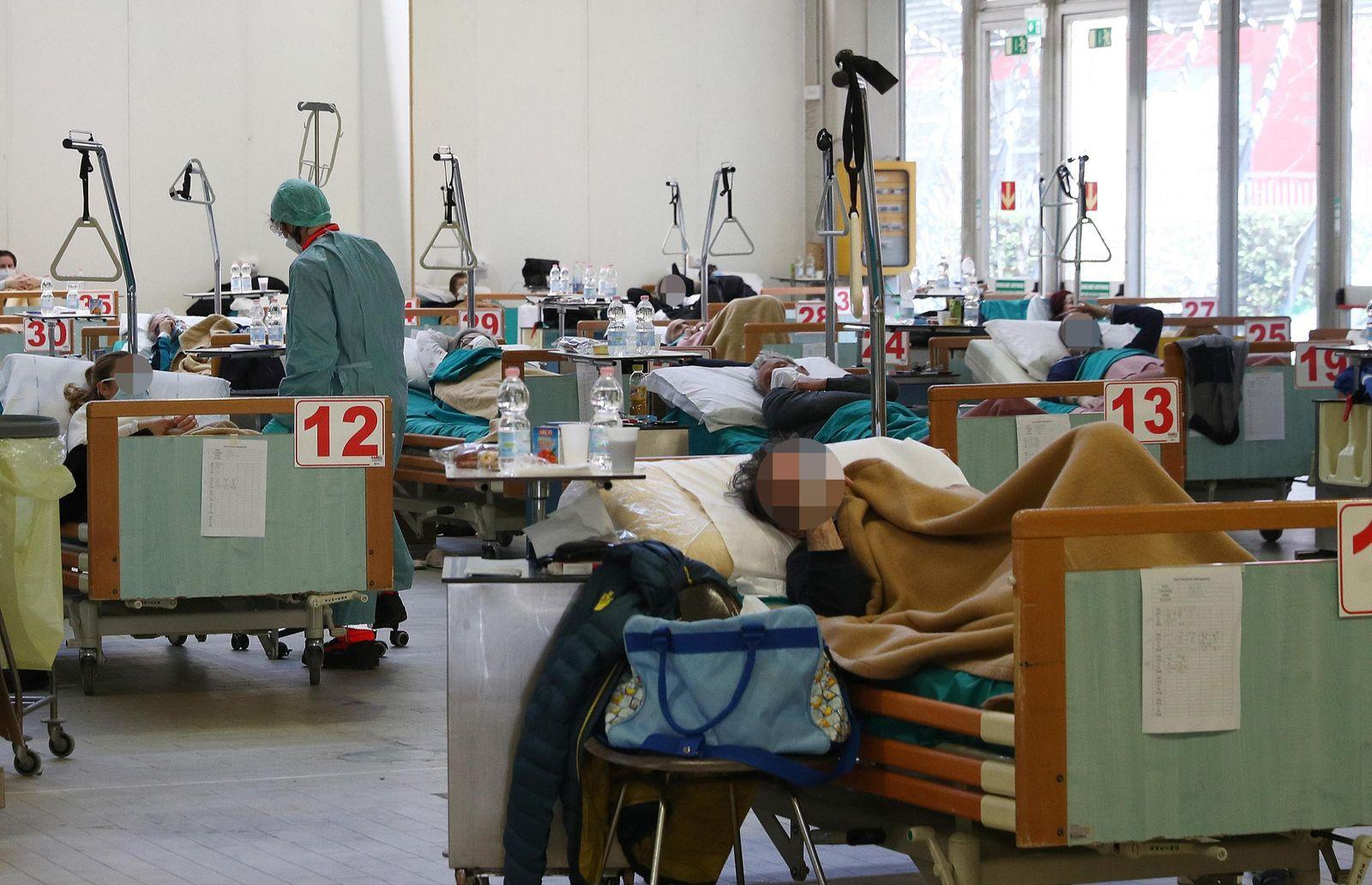Coronavirus in Italy, Brescia - 24 Mar 2020