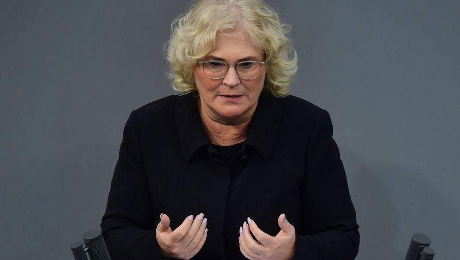 Christine Lambrecht ist neue Justizministerin