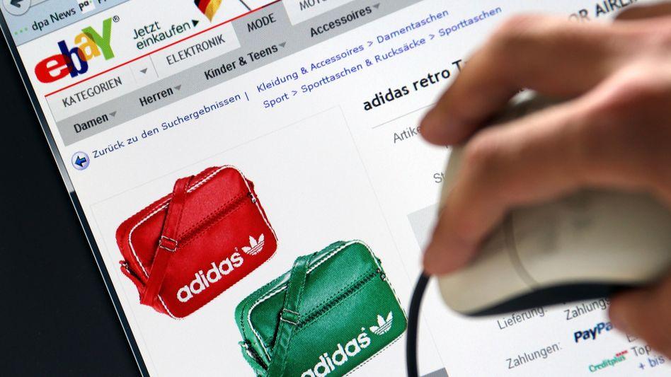 Adidas-Taschen bei Ebay: Hersteller gehen gegen Online-Händler vor