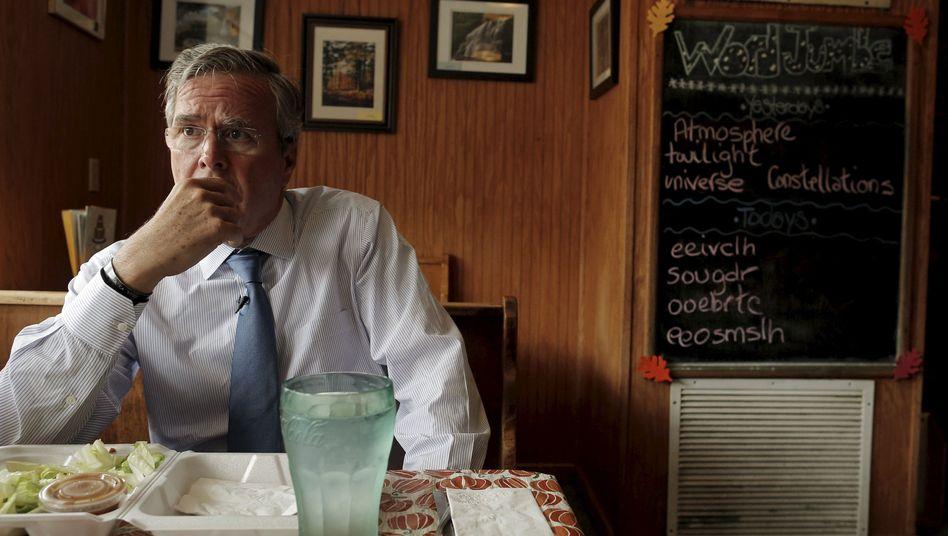 Präsidentschaftskandidat Jeb Bush: Einfach weitermachen - trotz allem
