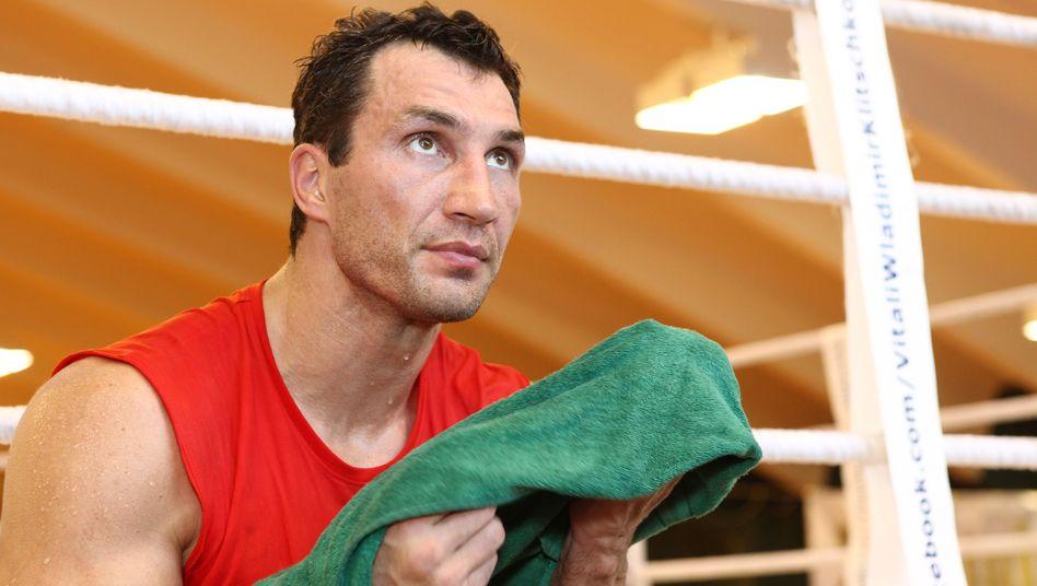 """Boxer Klitschko: """"Bei einer Wahrscheinlichkeit von nur noch 50:50"""""""