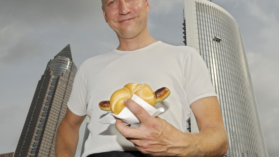 From stocks to brats: Thomas Brausse loves his new career.