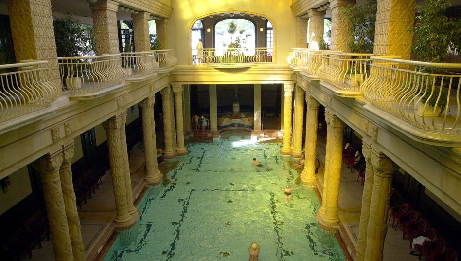 The 2007 sex party is thought to have taken place in Budapest's famous Gellért thermal baths.