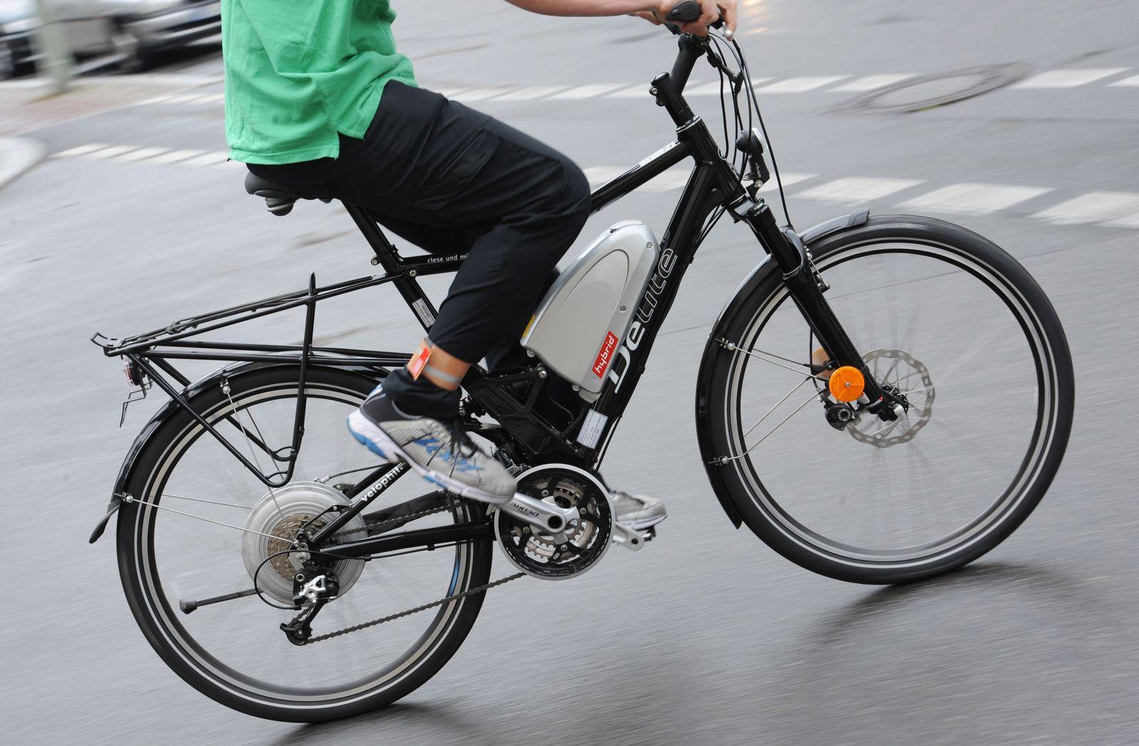 Fahrrad mit Elektroantrieb / E-Bike / Pedelec