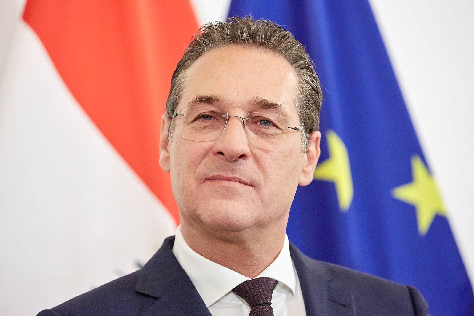 EINMALIGE VERWENDUNG Österreich/ Strache