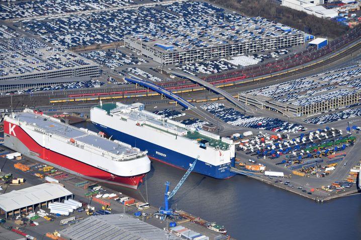 Export in Bremerhaven