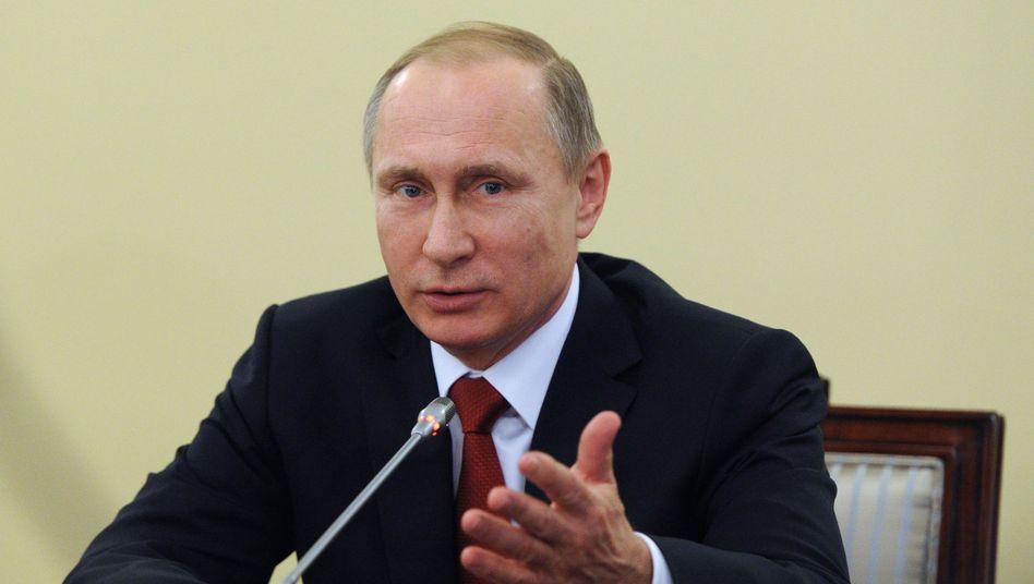 Russlands Präsident Putin: Über EGMR-Urteile hinwegsetzen