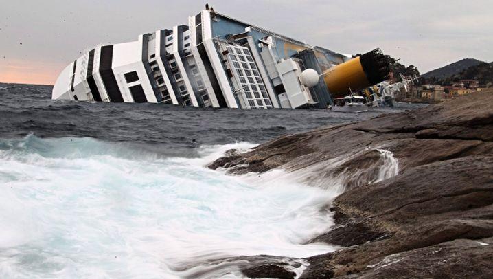 """""""Costa Concordia"""": Suche nach Vermissten"""