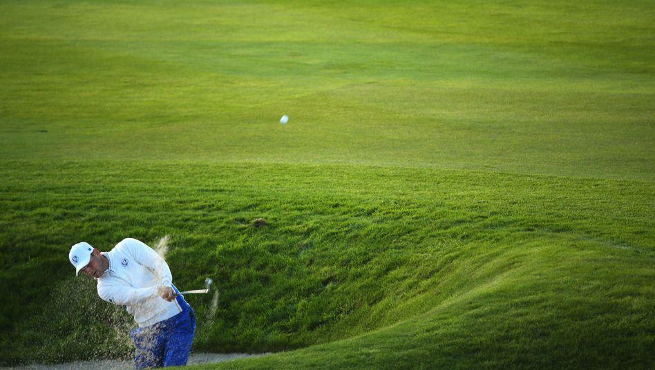 Golfprofi Kaymer: Rückstand gegen Reed/Spieth