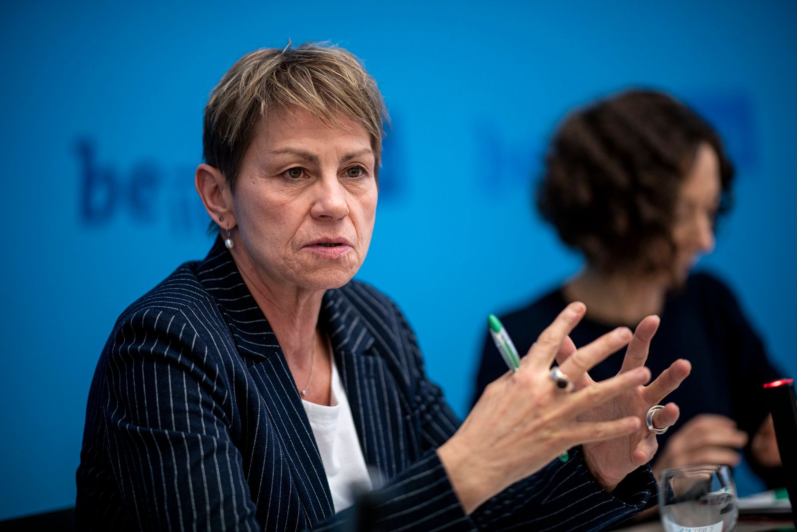 Pressekonferenz Berliner Senat zur Klimanotlage