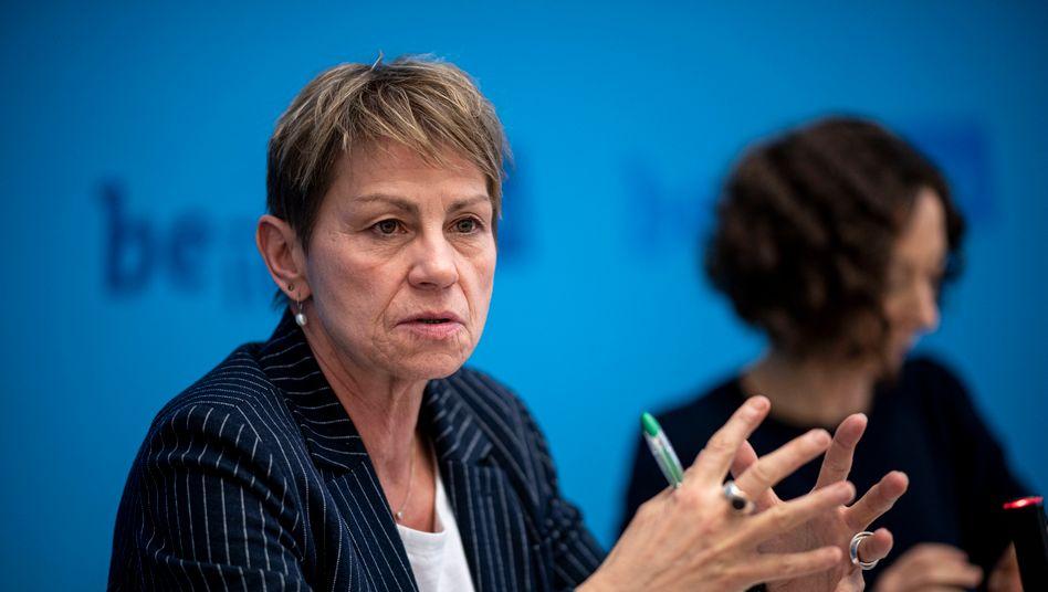 Elke Breitenbach, Berliner Senatorin für Integration, Arbeit und Soziales.