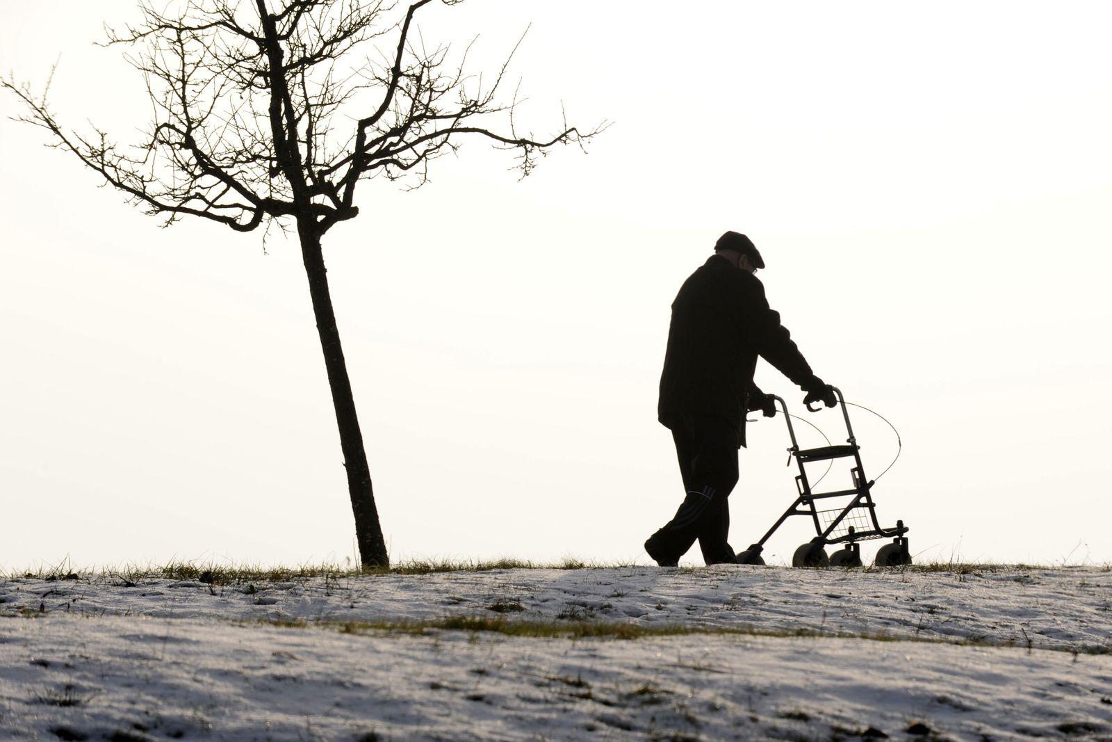 NICHT VERWENDEN Gehhilfe Alter