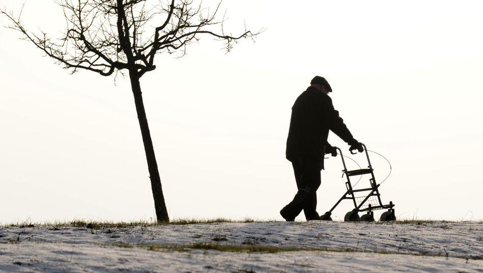 Spaziergänger am Bodensee: Durch schlechte Beratung arm im Alter