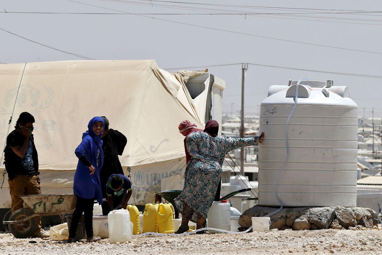 Jordanien/ Flüchtlingscamp