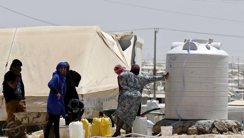 Flüchtlingscamp Zatari, Jordanien: Berlin rechnet mit Ausreisewelle
