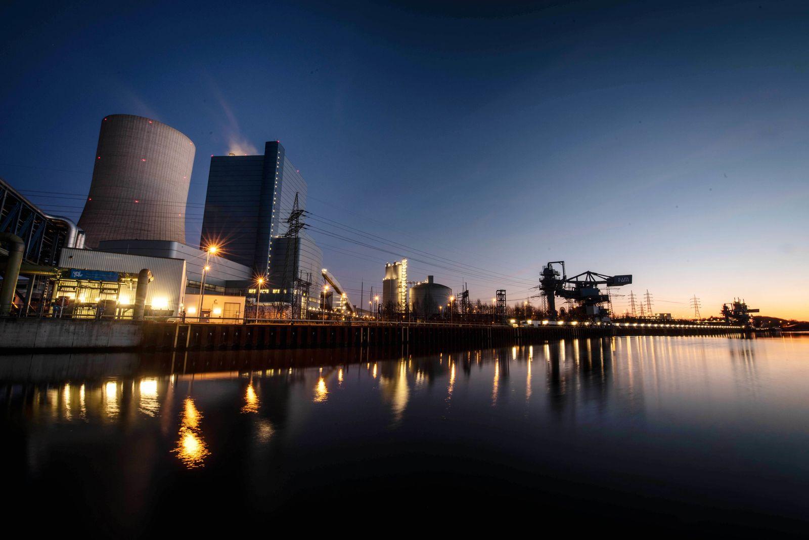 Uniper Kohle-Kraftwerk Datten 4