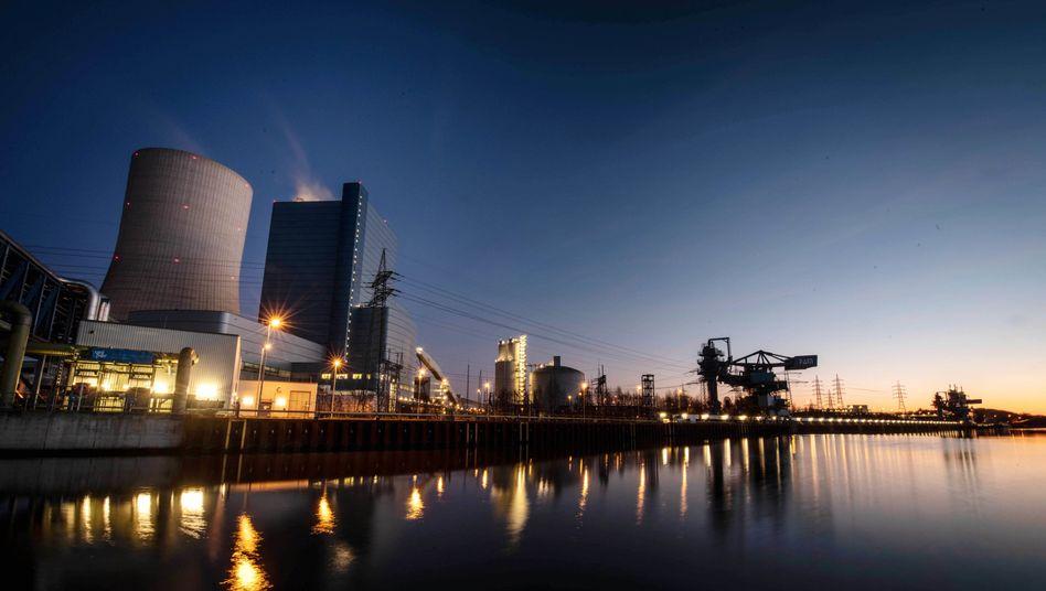 Das Uniper Kohle-Kraftwerk Datteln 4 wird wohl mehr CO2 ausstoßen als vergleichbare ältere Kraftwerke