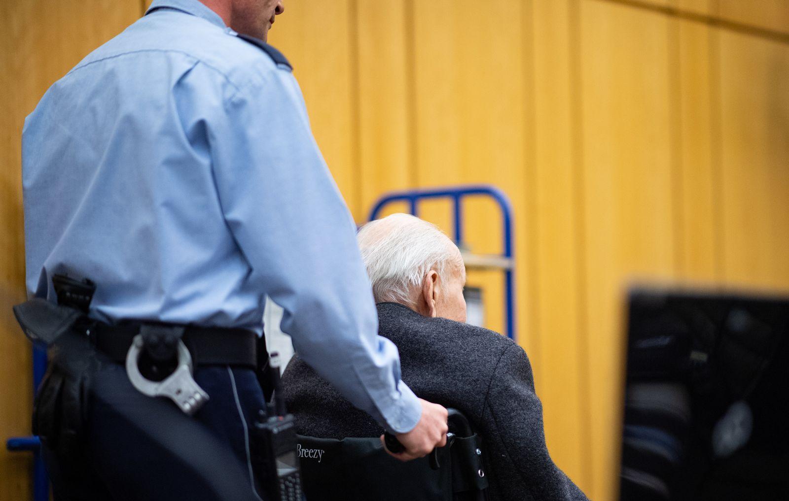 Prozess gegen ehemaligen SS-Wachmann / KZ Stutthof