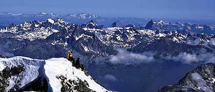 Rast am Piz Roseg: Traum eines jeden Bergsportbegeisterten