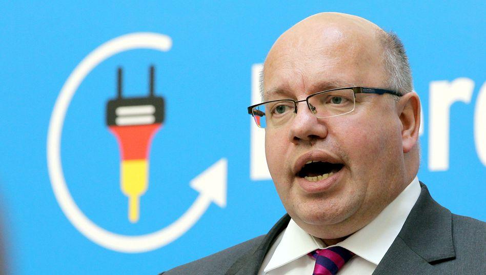 Bundesumweltminister Peter Altmaier: Stößt mit Sparinitiative auf Kritik
