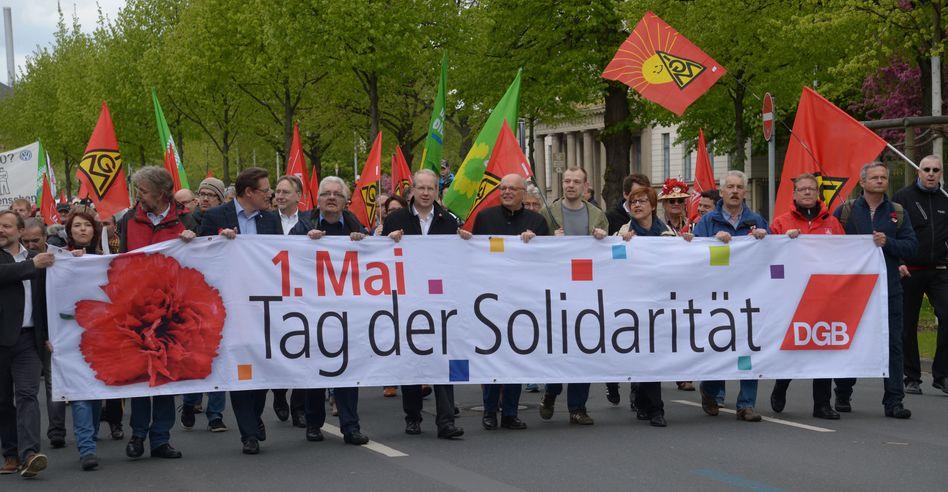 DGB-Kundgebung am 1. Mai 2015