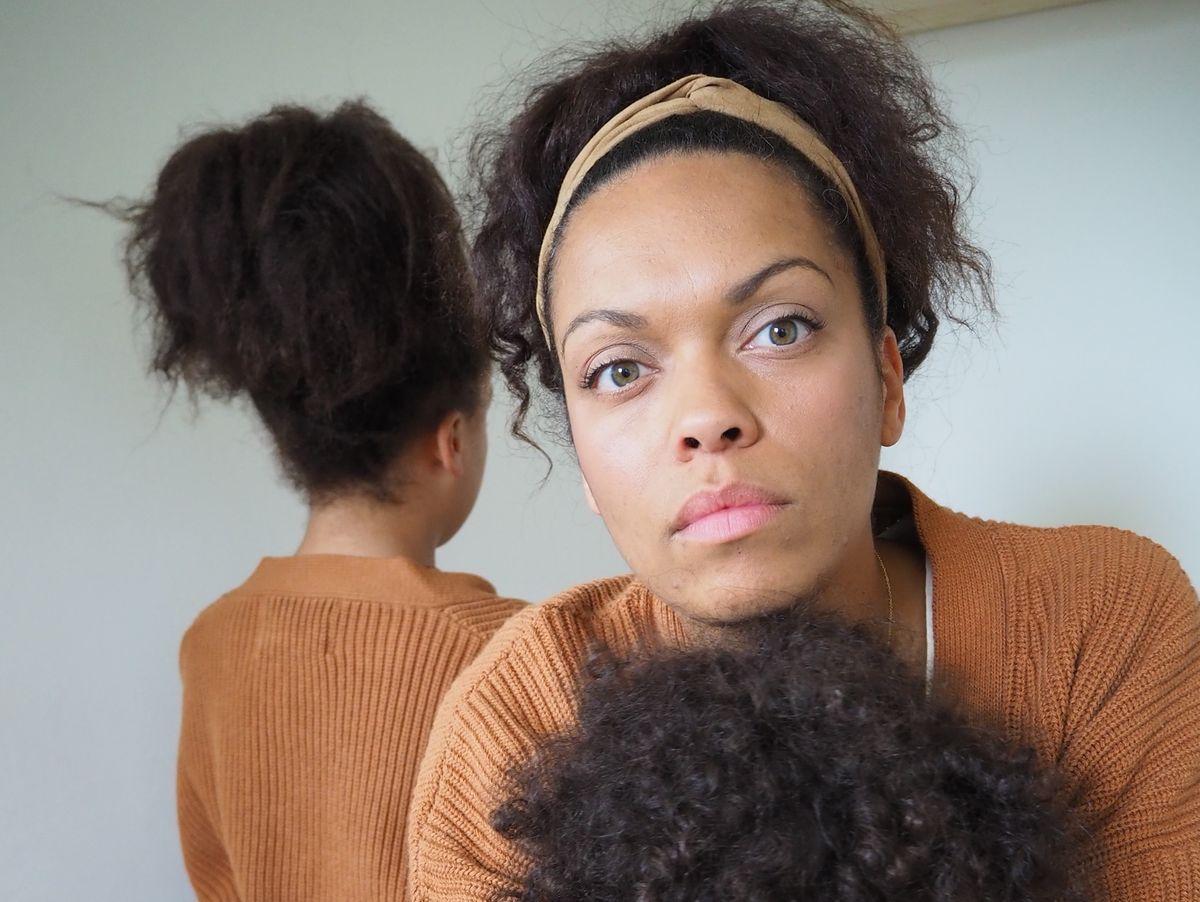 Tochter mit schwarzem Mann