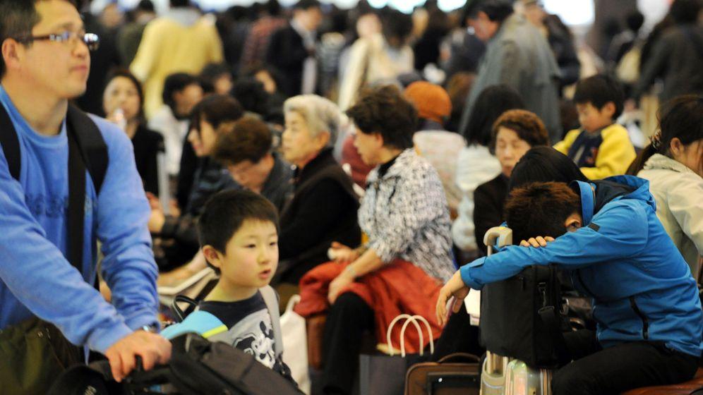 Tokio nach dem Beben: Eine Stadt in Schockstarre