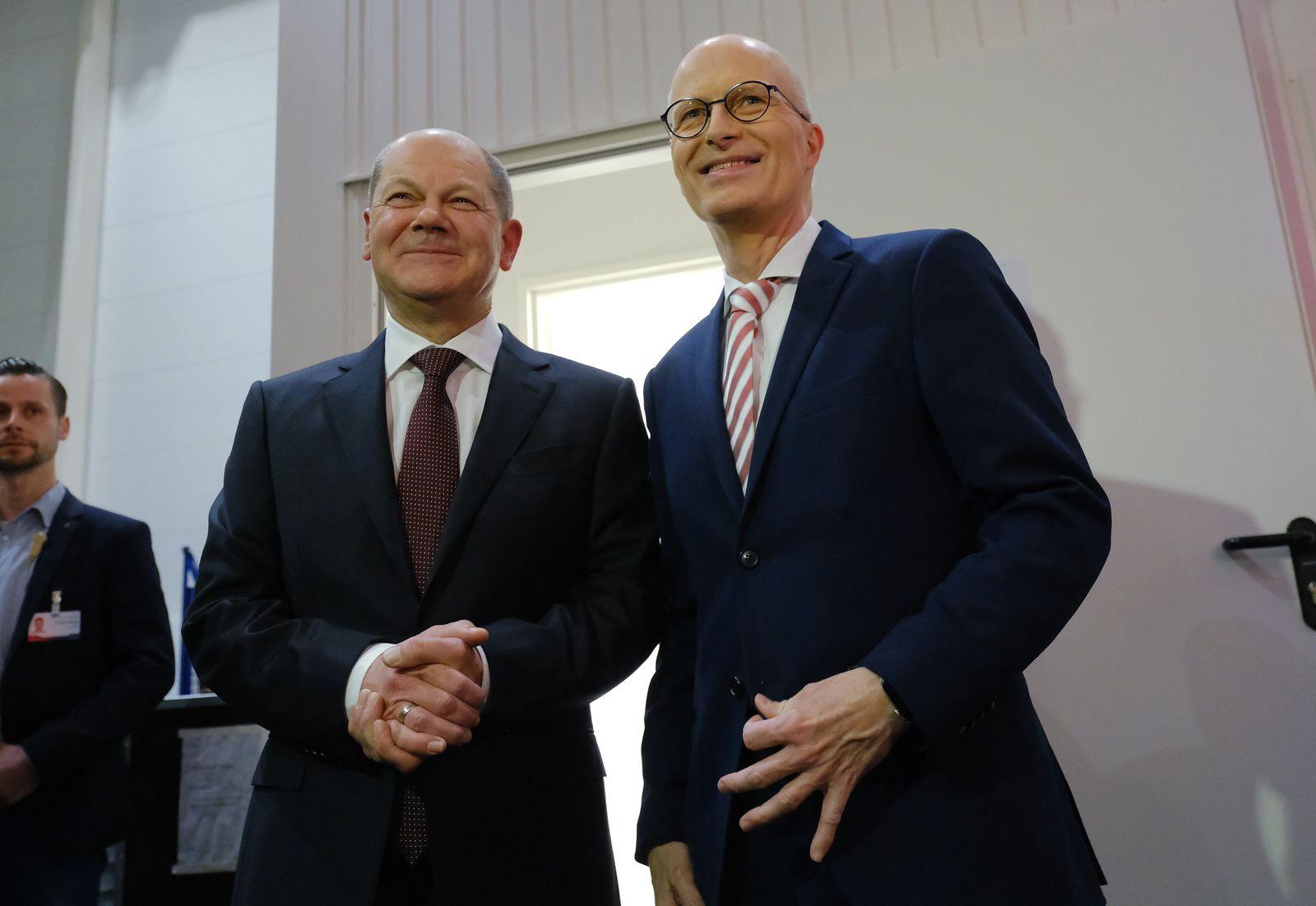 Hamburg Holds City Elections