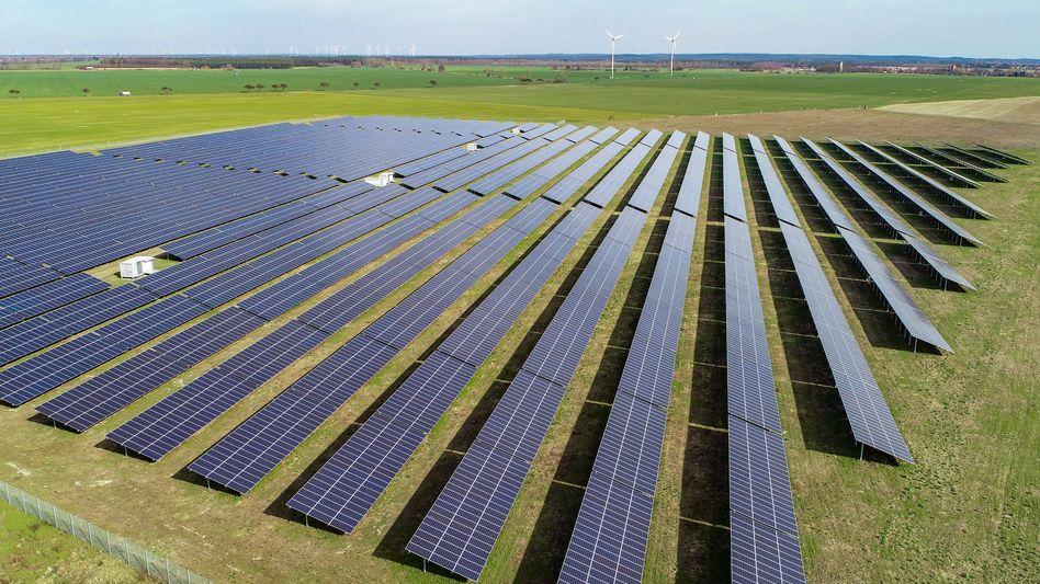 Solarpark in Brandenburg: Rekordmengen an Strom