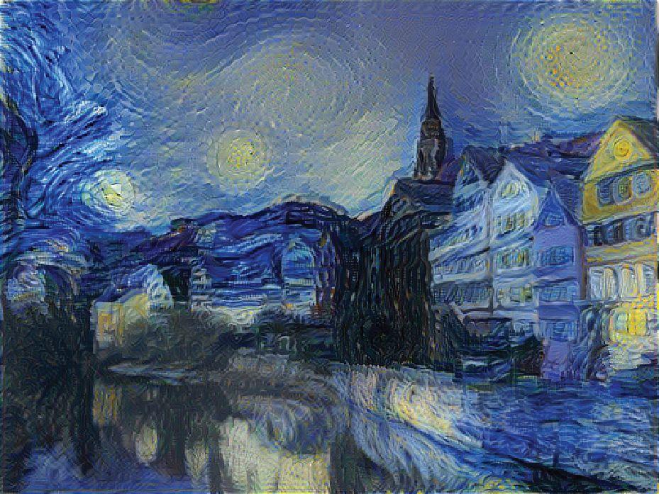 EINMALIGE VERWENDUNG Netzwelt/ Neural Algorithm of Artistic Style