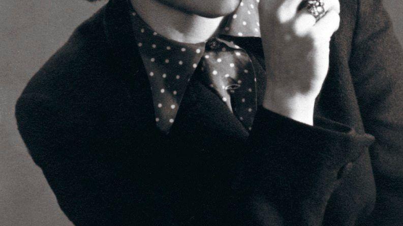 Schriftstellerin Rinser um 1948