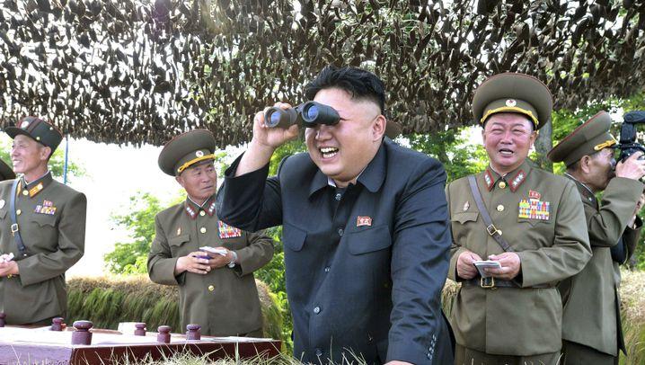 """Nordkorea: """"Erfolgreicher"""" Test einer Wasserstoffbombe"""