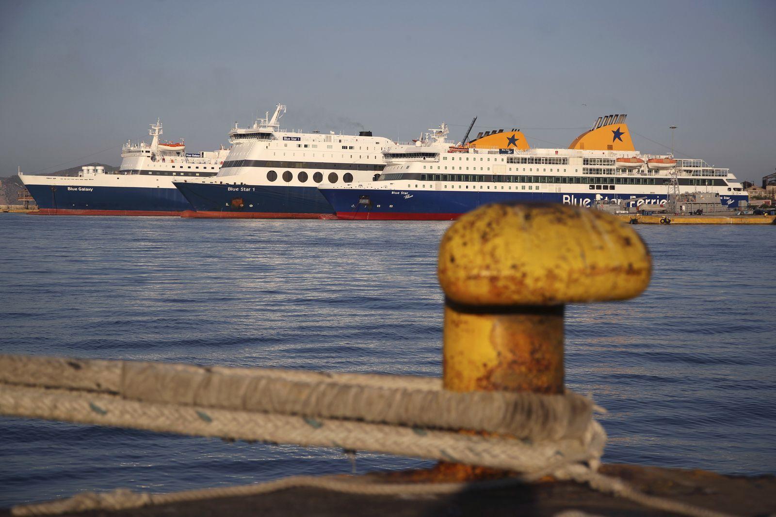 Griechenland/ Fähren-Streik