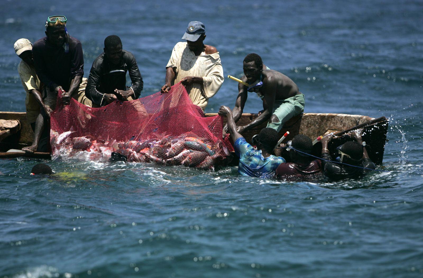 Fischfang Afrika