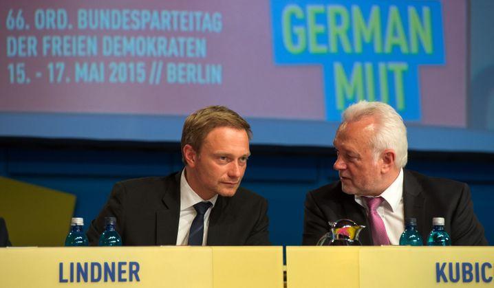 FDP-Chef Lindner und Vize-Parteichef Kubicki