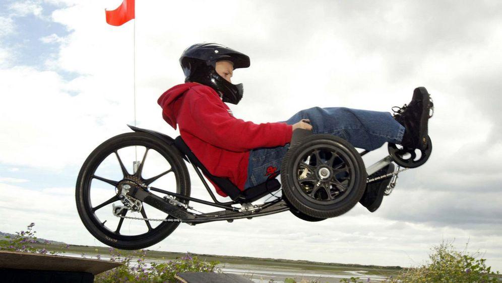 Fun-Trike KMX: Bremsen, bis der Arzt kommt