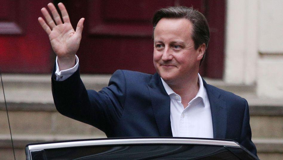 David Cameron wird Premierminister bleiben